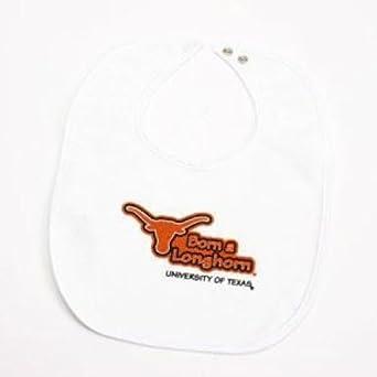 Newborn Snap Bib Kid n Me Texas Longhorns