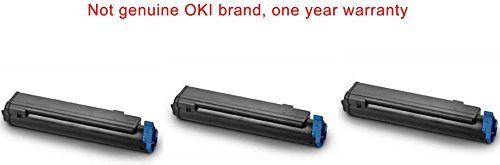 3 compatible black OKI B430DN printer ink toner cartridges to replace OKIdata 43979101 for Oki-data B430 series Mono laser machine