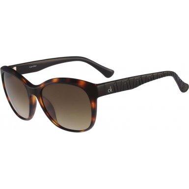 Calvin Klein Platinum CK3168S-320 Ladies CK3168S Havana Black Sunglasses