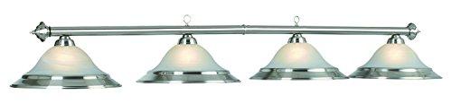 82In. 4 Lt Billiard Light-Stainless