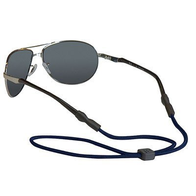 Chums 5mm Universal Fit Rope Eyewear Retainer, Navy (3 Pack)