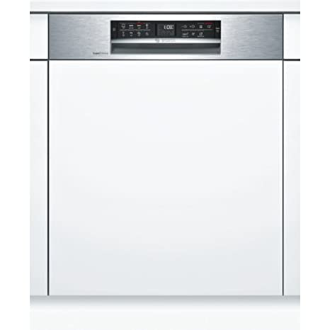 Bosch Serie 6 SMI68MS07E lavavajilla Semi-incorporado 13 ...