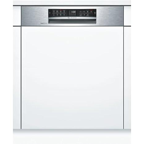 Bosch Serie 6 SMI68MS07E lavavajilla Semi-incorporado 13 cubiertos ...