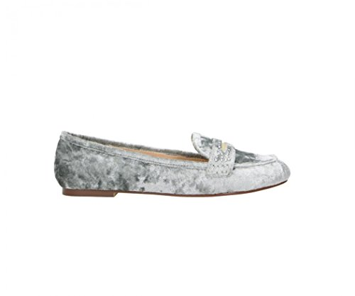 Fitters Footwear - Bailarinas de Terciopelo para mujer beige Ice Velvet