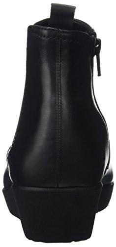Micro Bottes Noir Schwarz Comfort Gabor Femme Basic Shoes qw4S6