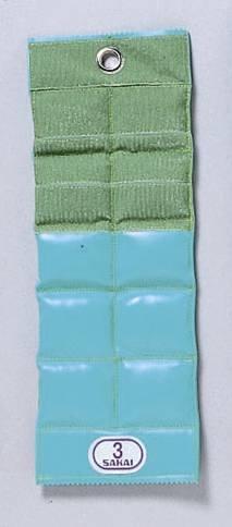 【リハビリテーション用】 カラー重錘バンド 3.5kg (ターコイズブルー) B00AQTYQRS 3.5kg (ターコイズブルー)  3.5kg (ターコイズブルー)