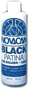 Novacan Black Patina for Solder