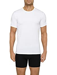 Men's Undershirts Cotton Stretch 2 Pack Crew Neck T-Shirts