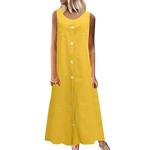 Sonoma Office Armoire - ♛TIANMI Dress for Women,Summer Casual Printed Sleeveless V-Neck Maxi Dress Hem Baggy Kaftan Long Dress
