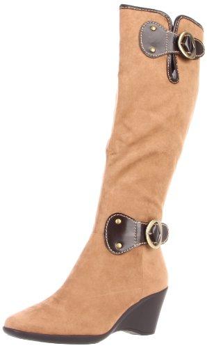 Aerosoler Kvinners Wonderling Boot Tan Combo