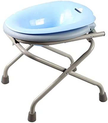 ZJN-JN Kommode Folding Mobil Adult WC-Sitz/Hocker mit Wasch Bidet Bowl for Schwangere Pflege Bad Rollstühle