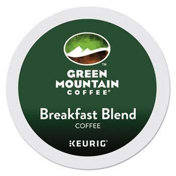 Green Mountain Coffee Roasters Breakfast Blend Keurig Single-Serve K-Cup Pods, Light Roast Coffee, 24 Count