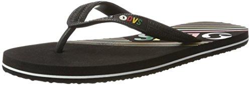 Sandals Flip Synthetic Black Flops Marbella DVS Mens Slip On Shoes 8v4WaxTqw