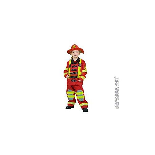 Disfraz Bombero de 3 años a 4 años: Amazon.es: Ropa y accesorios