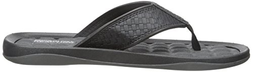 Four Cole Kenneth Black Sandal Men's Go Flat REACTION TH q1wwTSx6O