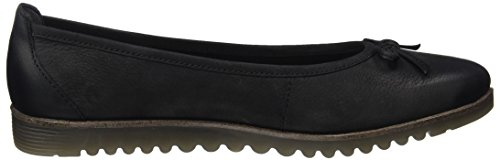 Tamaris Women's 22103 Ballet Flats Black clearance for nice Jjsfck