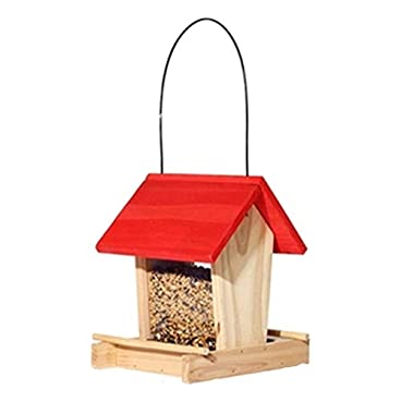 Transparent bird feeder Traditional Wooden Hanging Decoration For Outdoor Patio Bird Table Free Standing Easy Cleaning & Refills Traditional Wooden Bird Feeder Suction cup outdoor bird house feeder