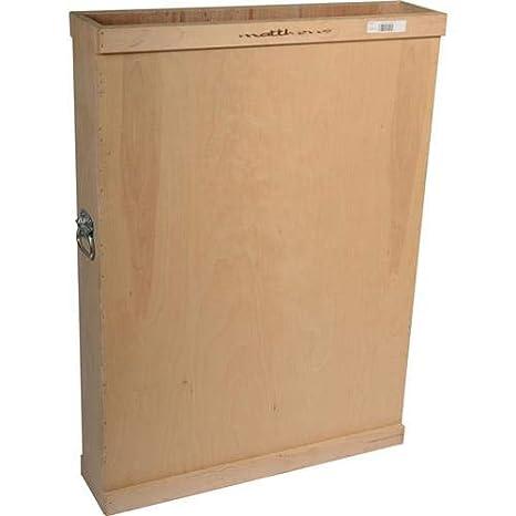 Amazon.com: Matthews - Caja de almacenaje de madera para 10 ...