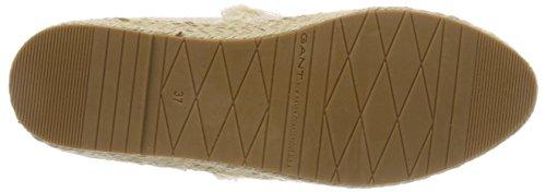 Gant G27 Beige Espadrillas Donna Krista Putty Cream Beige 64O6qw1