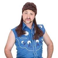 Accesorio de traje de peluca de Super Mullet