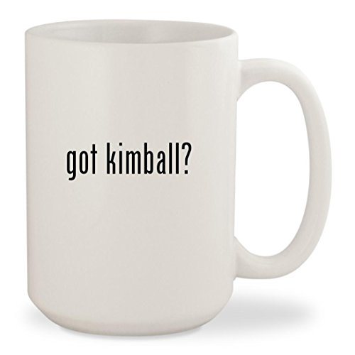 got kimball? - White 15oz Ceramic Coffee Mug Cup