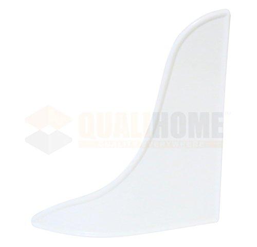 bathtub shower splash guard white 2 pack buy online in uae kitchen products in the uae. Black Bedroom Furniture Sets. Home Design Ideas
