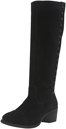Hush Puppies Kvinna Ideal Nellie Boot Svart Mocka