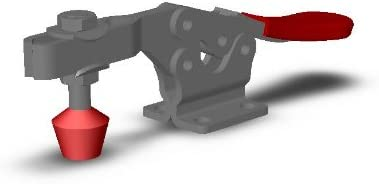 DE-STA-CO 225-USS Horizontal Handle Hold Down Action Clamp