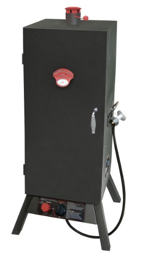 (Landmann USA 3495GW Smoky Mountain Vertical Gas Smoker, 34-inch)