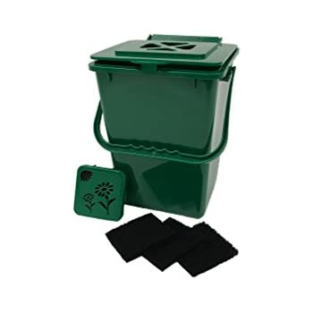 Amazon.com : Exaco Trading MR ECO Mini Compost Bin ...