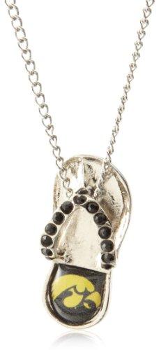 Iowa Hawkeyes Jewelry (NCAA Iowa Hawkeyes Crystal Flip Flop)