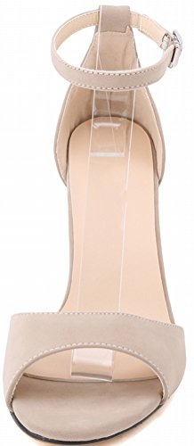 friction 107 Ankle Delicate Sandals Daily Open Cozy Toe Pump Office Business Stilettos YSE Nude Summer Womens Trend Classic Fresh 1RB Anti Leisure CFP Bright Wrap PRYqB5wn