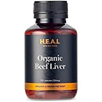 Pete Evans   Beef Liver Capsules   Grass Fed – Qaulity Australian Beef Liver Supplements   Hormone & GMO Free   Cod…