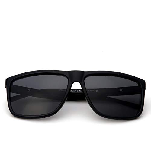 Protectoras Sol De Clear Frame Clear de Color Sol Gafas Gafas De TLMY Gray De Gray Lens Gafas Lens Hombres Tamaño Sol Frame Sol De Gran Gafas De Black Black Los twZwqUR