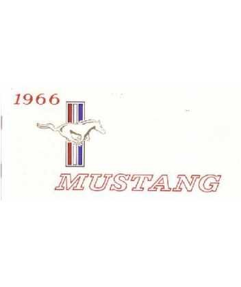 amazon com 1966 ford mustang owners manual user guide automotive rh amazon com 1966 mustang owners manual download 1966 mustang owners manual pdf