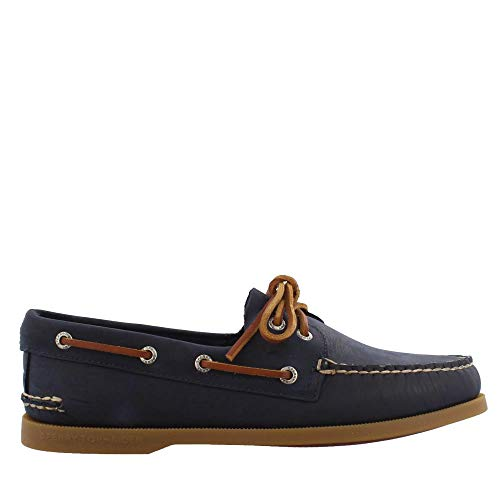 Sperry Men's Authentic Original Richtown Boat Shoe, Navy, 11 M