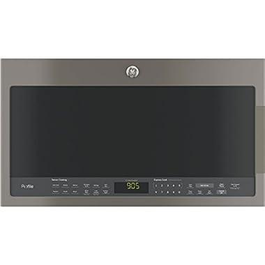 GE PVM9005EJES Profile 2.1 Cu. Ft. Slate Over-the-Range Microwave