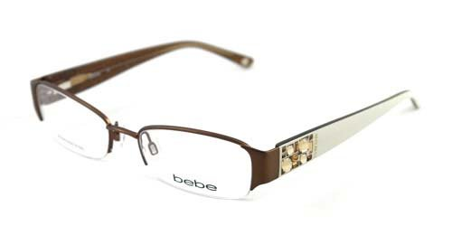 fe0b4e761b1c BEBE EYEGLASSES BB 5015 WHITE SMOKED TOPAZ AMOROUS - Buy Online in ...