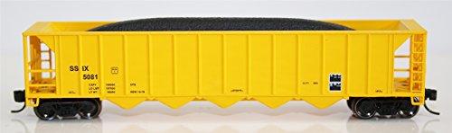 Fox Valley Models N Ortner 5-Bay Rapid Discharge Hopper, SSIX (Itel Corp)