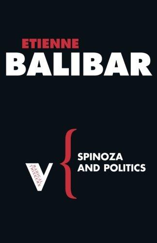 Spinoza and Politics (Radical Thinkers)
