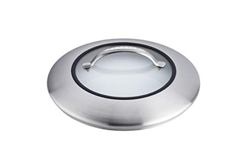 Scanpan CTX Stainless Steel/Glass Lid, 12.75