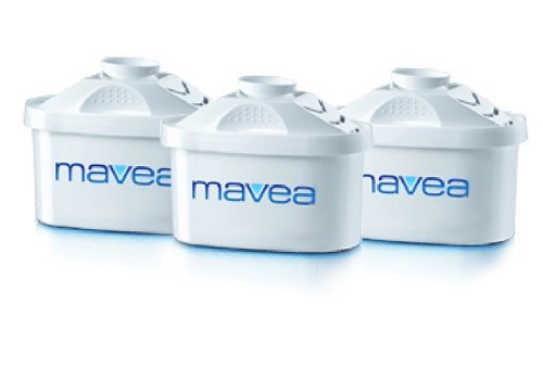 Mavea BRITA Maxtra Replacement Filters 1001122, Set of 3