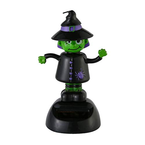 Rambling New Solar Dancing Witch Halloween Swinging Animated