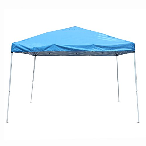 ALEKO GZP201BL 10 x 10 Easy Pop Up Outdoor Collapsible Gazebo Canopy Tent, Blue color