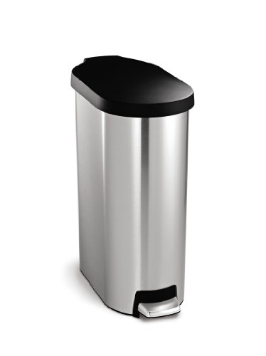 45l stainless steel trash can - 3