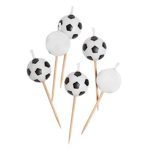Soccer Birthday Favors - Soccer Ball Birthday Candles,