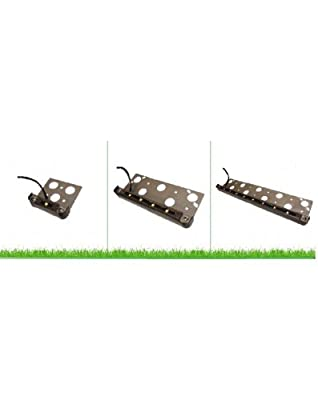 Westgate Lighting LED Hardscape Light - Indoor And Outdoor Waterproof Landscape Step Lights For Garden, Path, Yard, Patio - Accessories Included