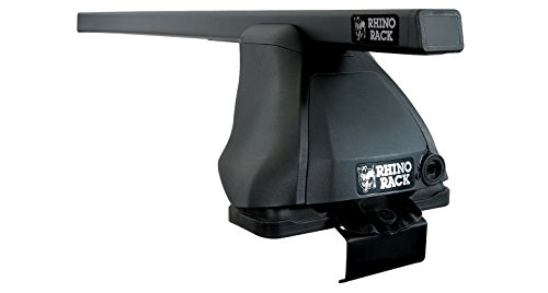 (Compatible with: Nissan Altima (incl. Hybrid) 4dr Sedan 2013 to 2018 - Rhino-Rack Euro 2500 Black 2 Bar Roof Rack)