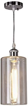 Top Lighting Modern Industrial Edison Vintage Style Glass Pendant 1-Light Hanging Ceiling Lighting Lamp