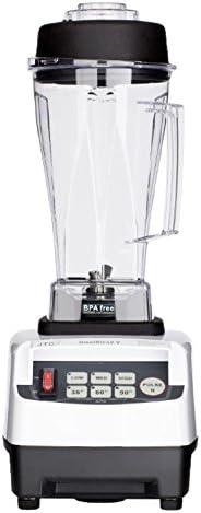 Mixer JTC OmniBlend V Professional Series kostenloser BPA-freier 2,0-l-Becher in wei/ß